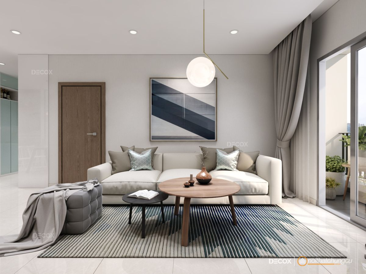 Thiết kế nội thất chung cư Tecco Town 78m2