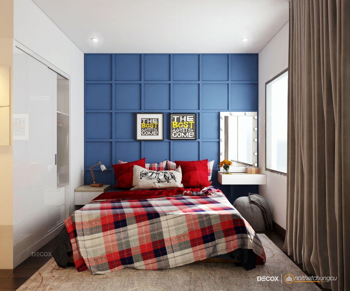 Thiết kế nội thất chung cư72m2 Botanica