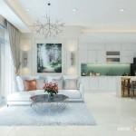Thiết kế nội thất chung cư Gold View 107m2