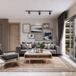 Thiết kế nội thất chung cư 85m2 The Everrich