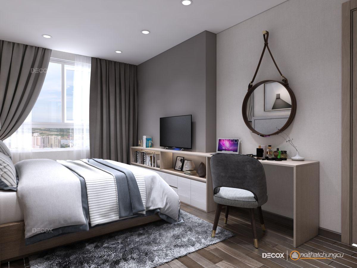 Thiết kế nội thất chung cư 85m2 The Everich