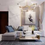 Thiết kế nội thất chung cư 107m2 Vinhomes Central Park