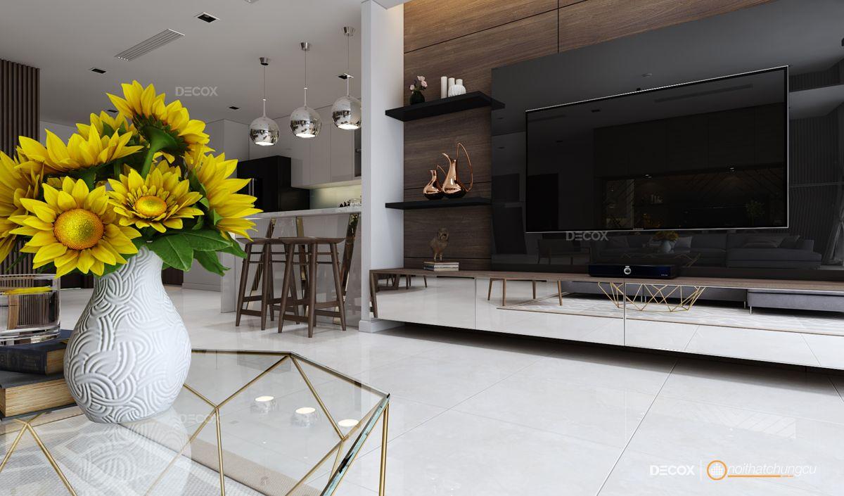Thiết kế nội thất chung cư 174m2 Vinhomes Central Park