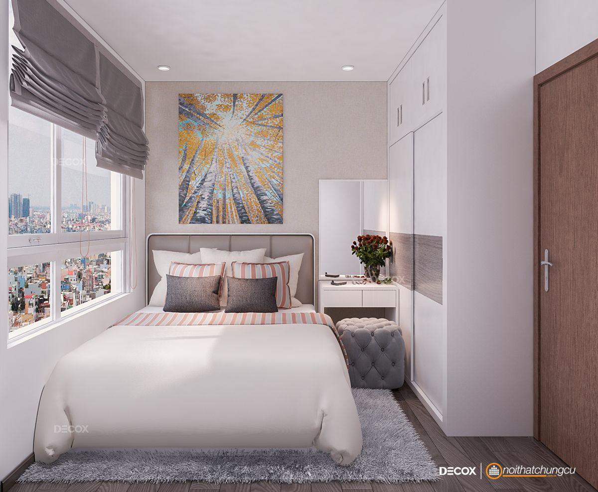 Thiết kế nội thất chung cư 68m2 The Tresor