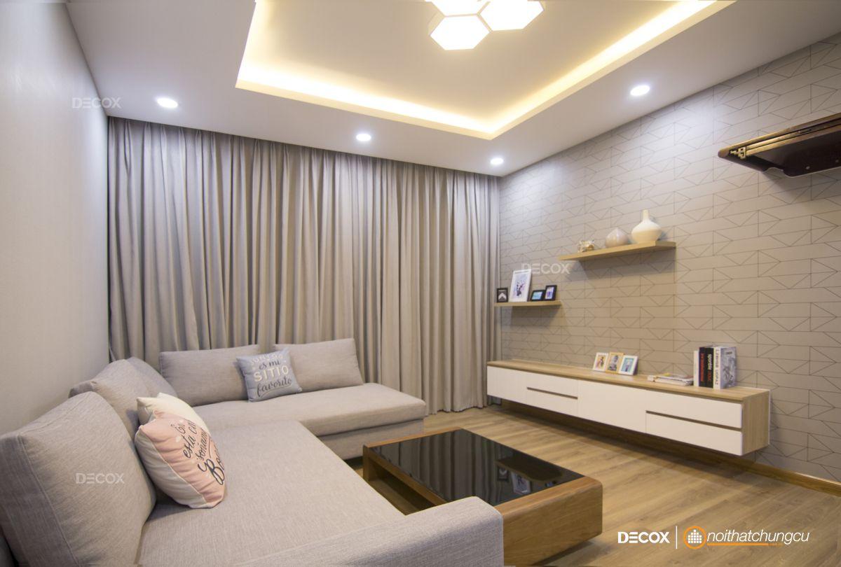 Thi công nội thất chung cư Oriental 100m2