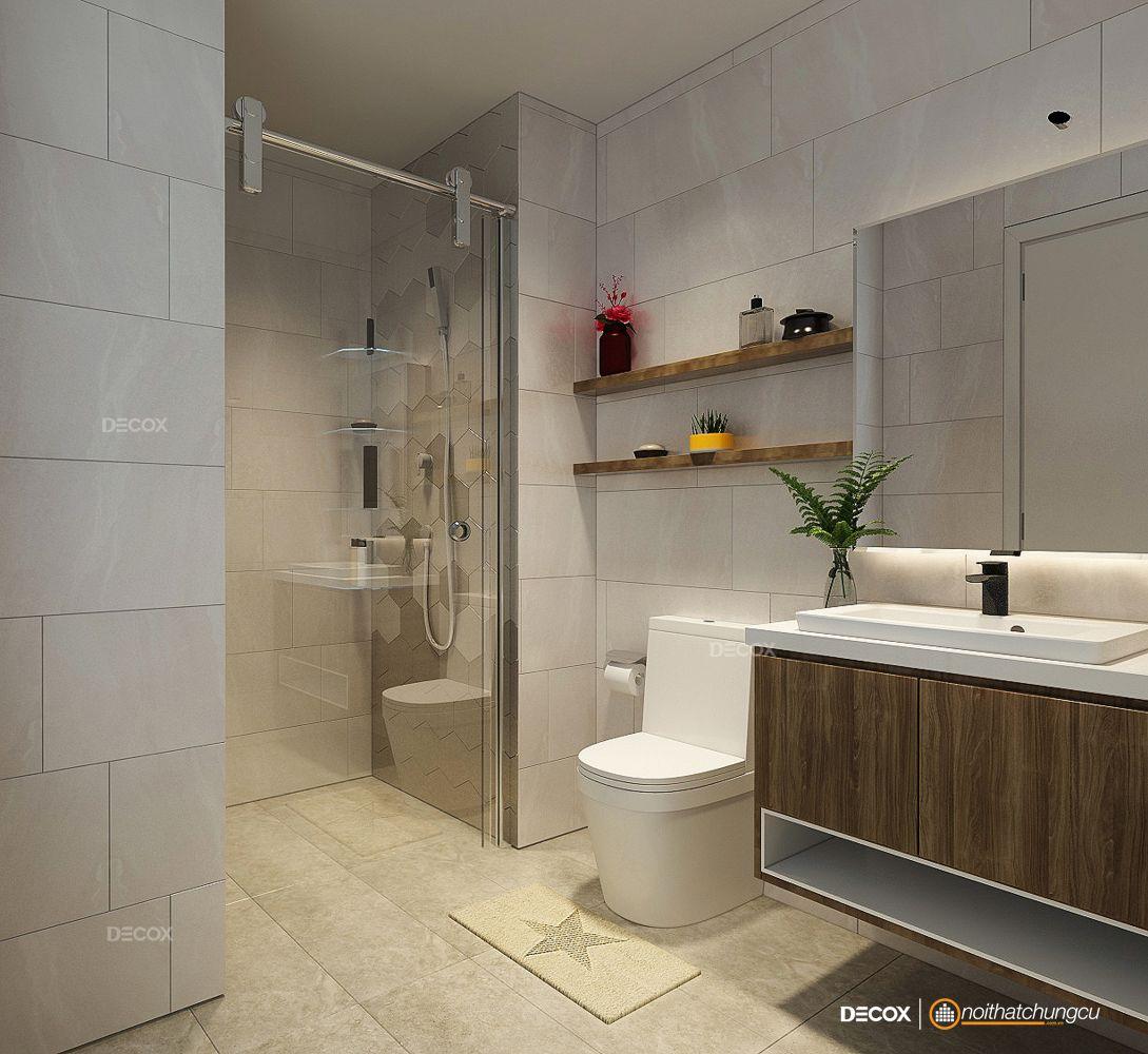 Thiết kế nội thất chung cư 80m2 Garden Gate