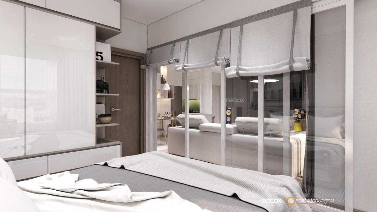 Thiết kế nội thất chung cư 71m2 Lucky Palace