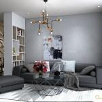 Thiết kế nội thất chung cư 90m2 Melody Vũng Tàu