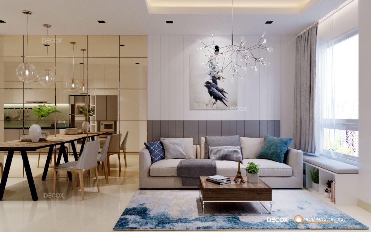 Thiết kế nội thất chung cư 72m2 Park Residence