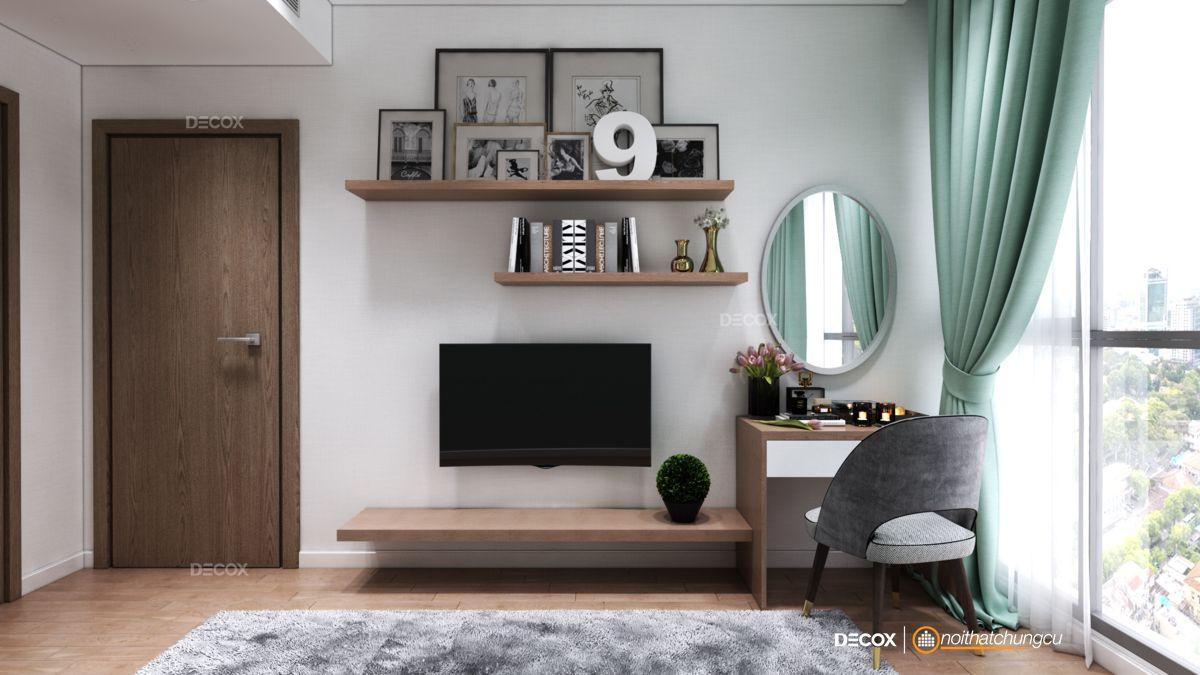 Thiết kế nội thất chung cư 65m2 Rivera Park