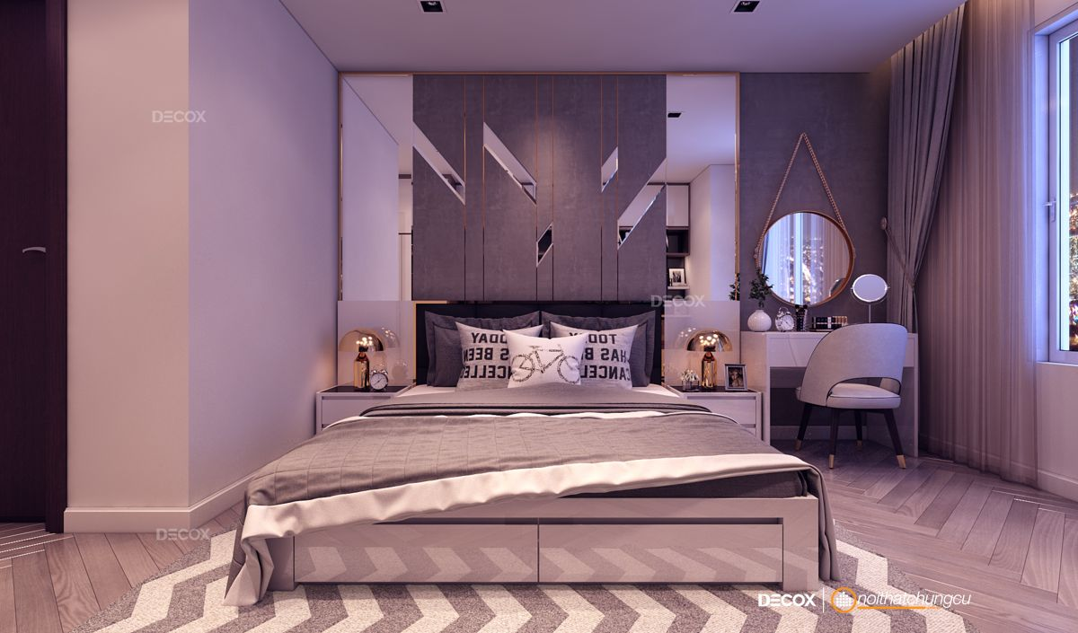 Thiết kế nội thất chung cư 124m2 Sunrise City