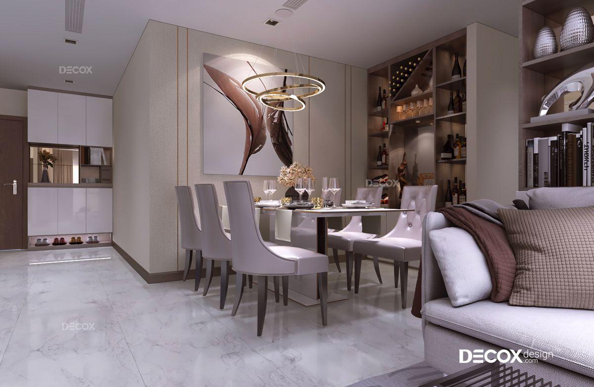 Thiết kế nội thất chung cư 74m2 Vinhomes Central Park