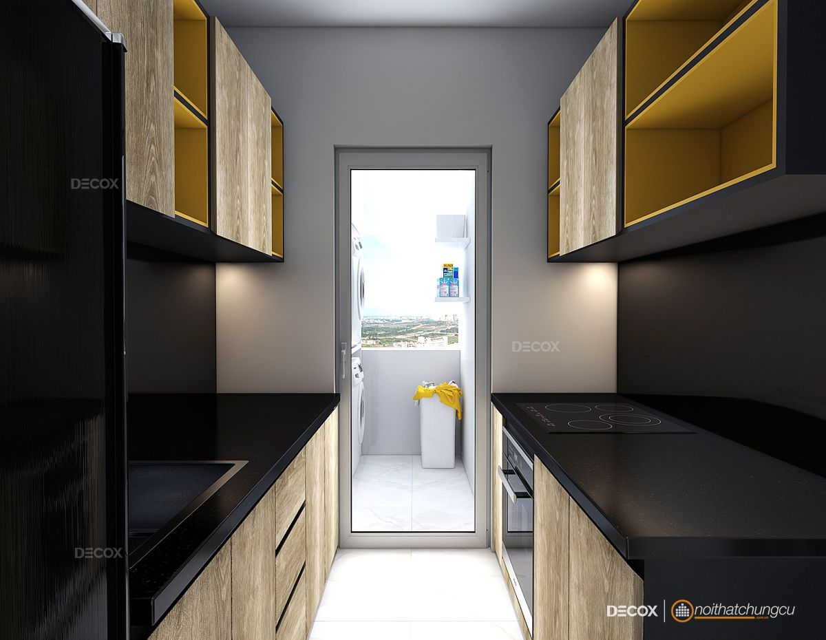 Thiết kế nội thất chung cư 56m2 Vision Bình Tân