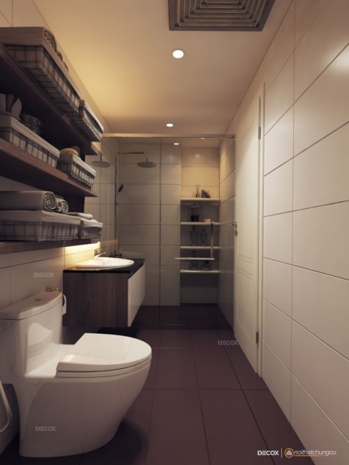 Thiết kế nội thất chung cư 48m2 The Everrich