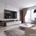 Tư vấn thiết kế nội thất chung cư Estella Heights 150m2