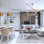 Tư vấn thiết kế nội thất chung cư Estella Heights 93m2