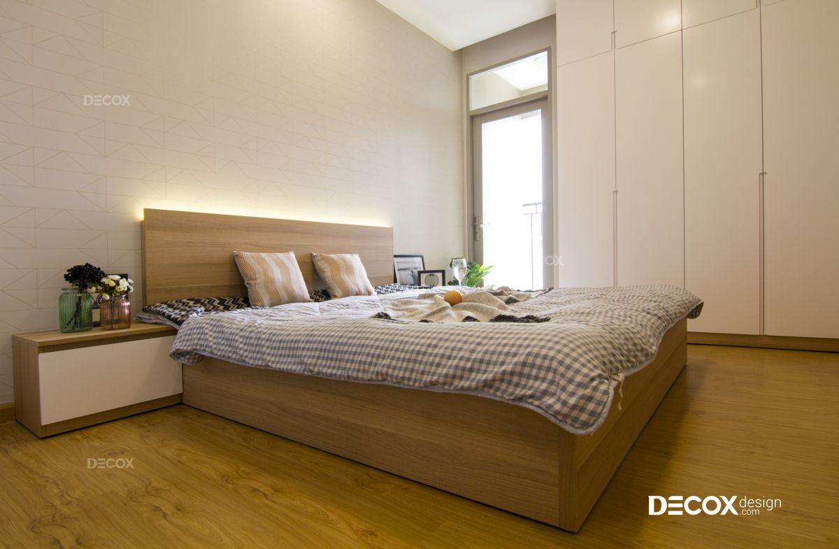 Thi công nội thất căn hộ The Art 69m2