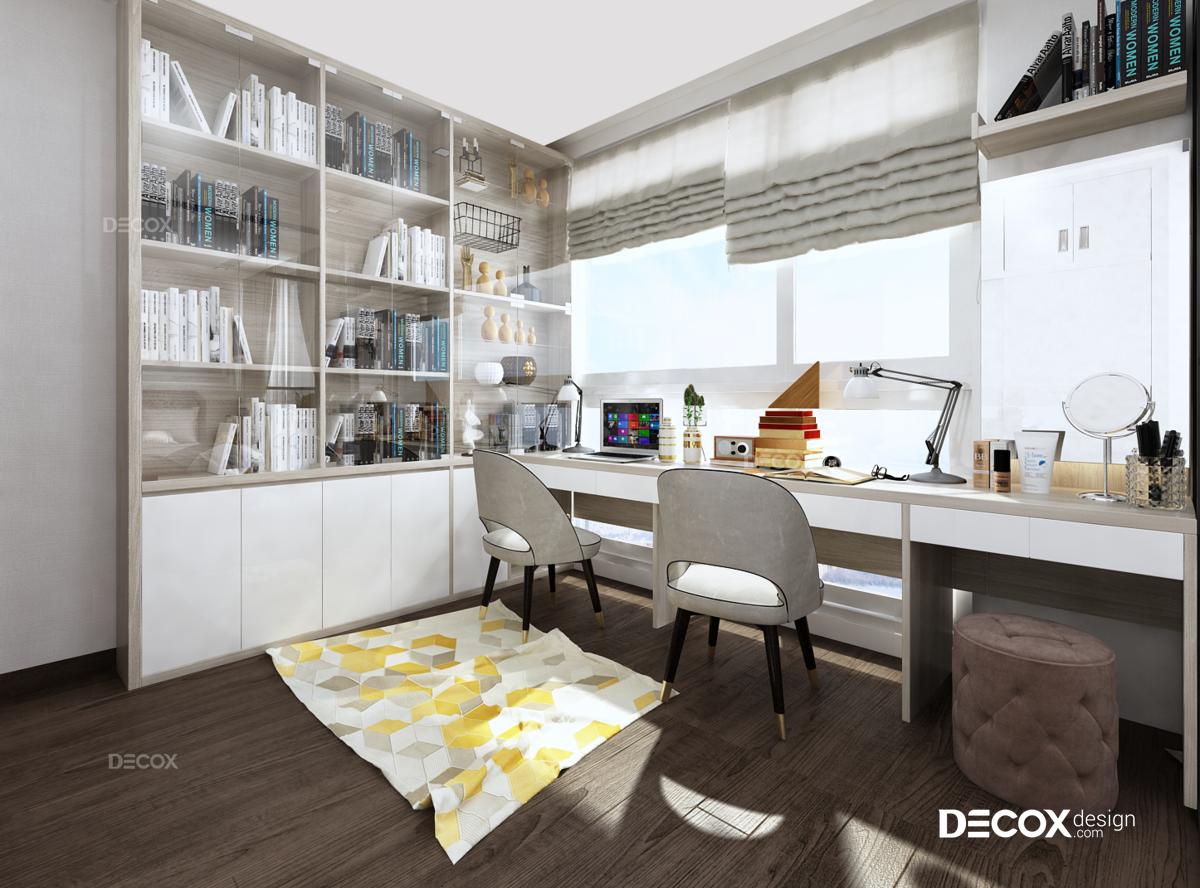 Thiết kế nội thất căn hộ 118m2 Vinhomes Central Park
