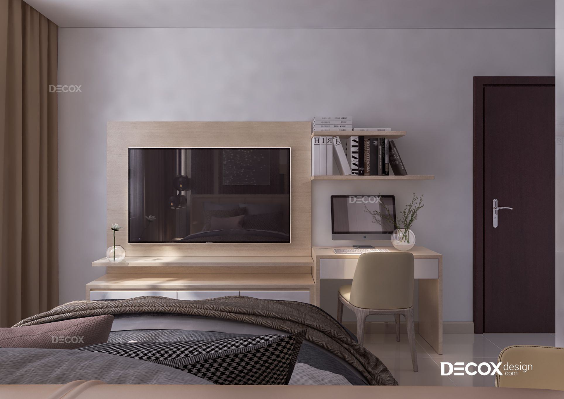 Thiết kế nội thất căn hộ Bông Sao Cao Ốc B1 57m2