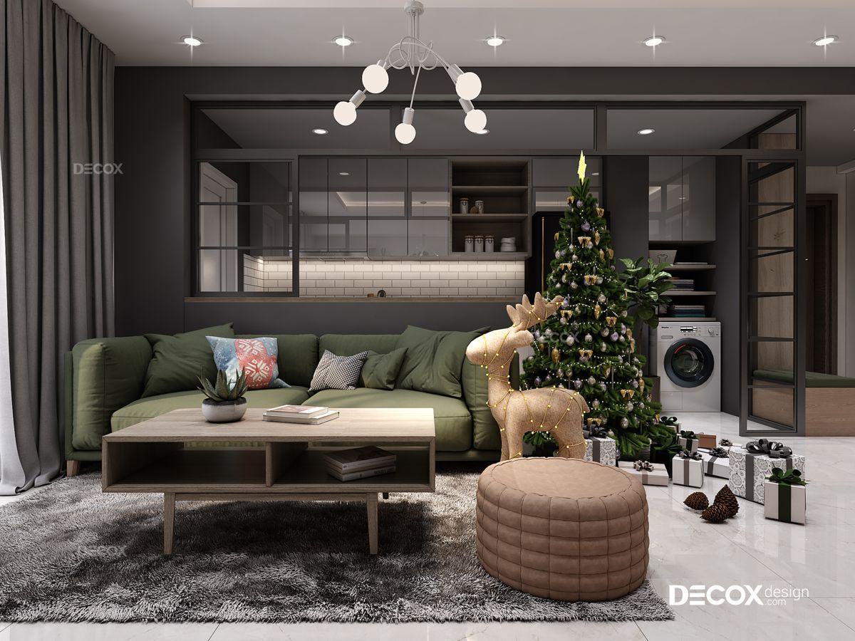 Thiết kế nội thất chung cư Botanica 92m2