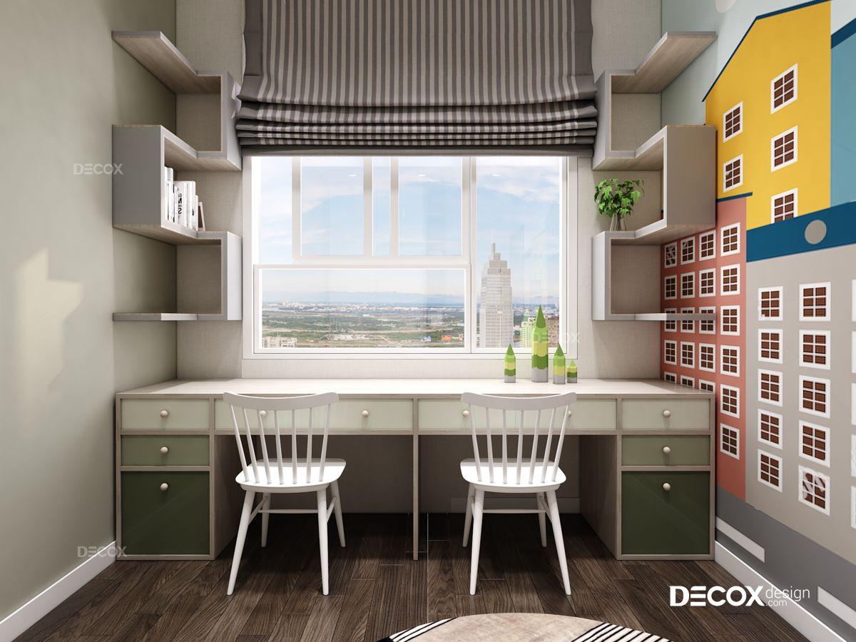Thiết kế nội thất căn hộ Botanica 92m2