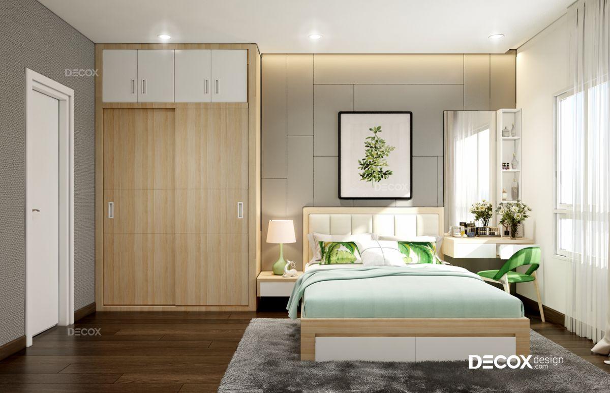 Thiết kế nội thất chung cư 85m2 M-One
