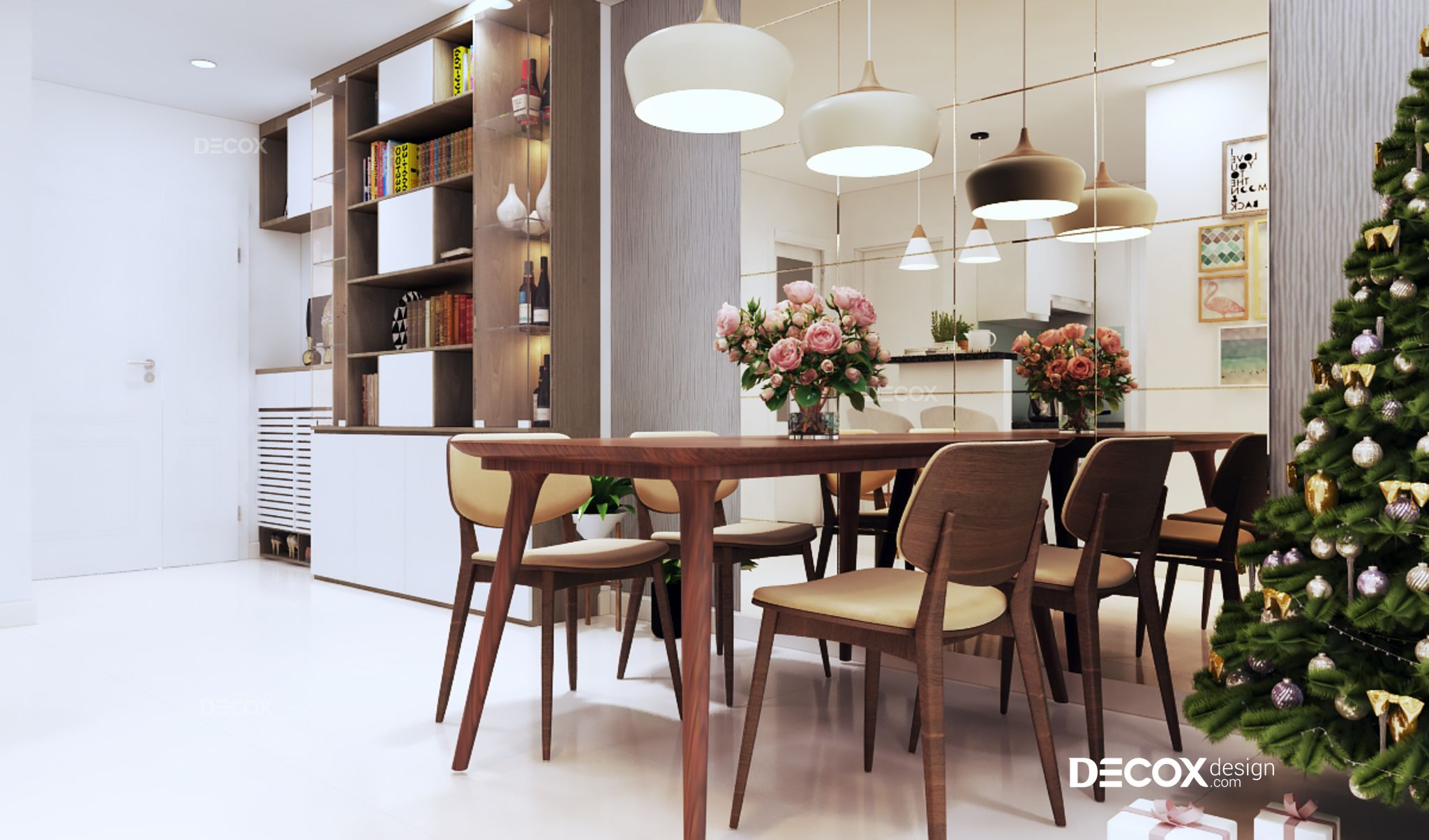 Thiết kế nội thất căn hộ Melody Âu Cơ 62m2