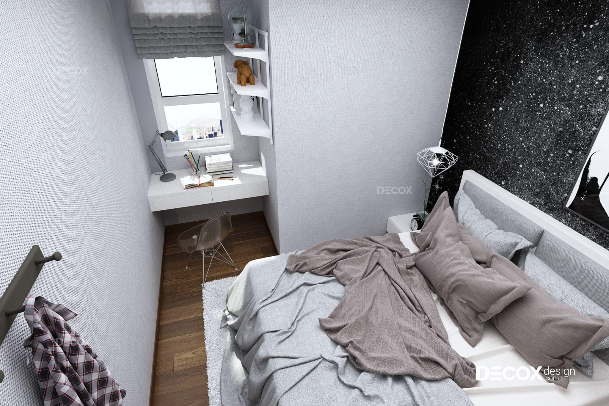 Thiết kế nội thất căn hộ Melody Âu Cơ 86m2