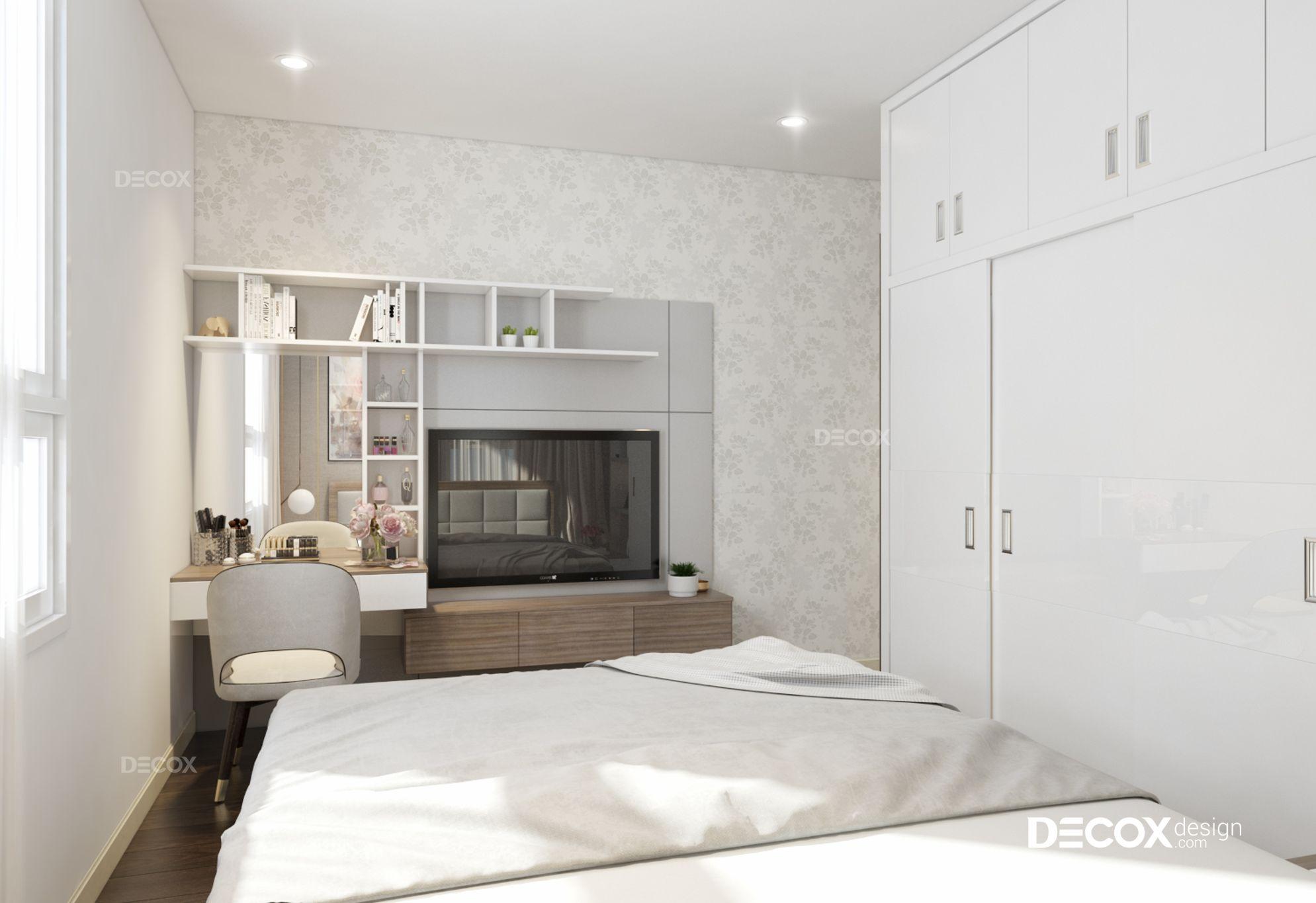 Thiết kế nội thất căn hộ Opal Riverside 70m2