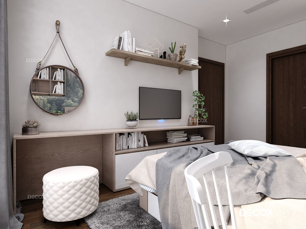 Thiết kế nội thất căn hộ Vinhomes Central Park 87m2