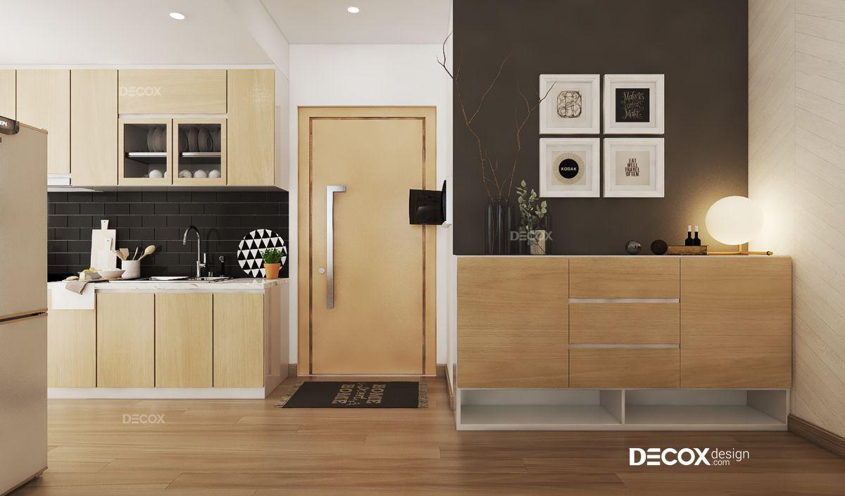 Thiết kế nội thất chung cư 54m2 Vista Verde