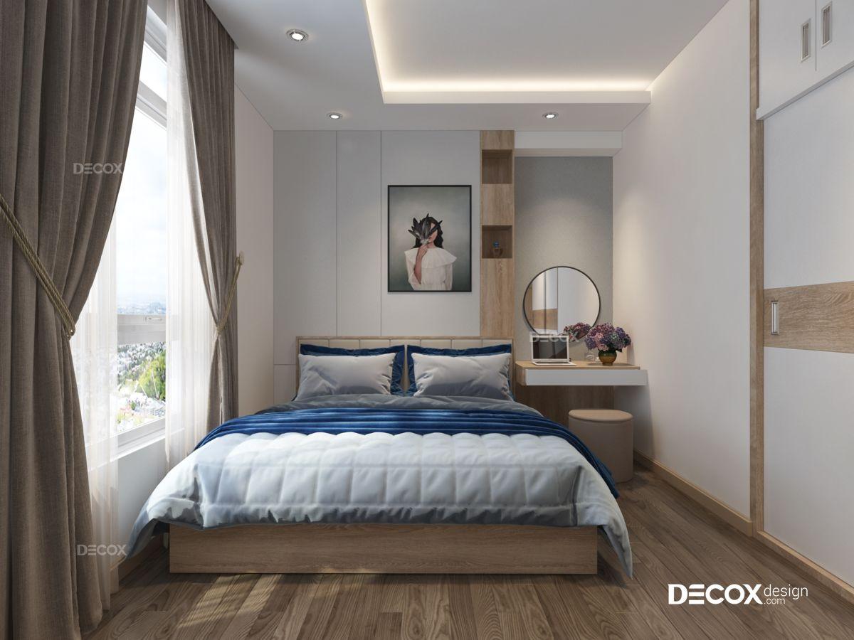 Thiết kế nội thất căn hộ 67m2 The Art