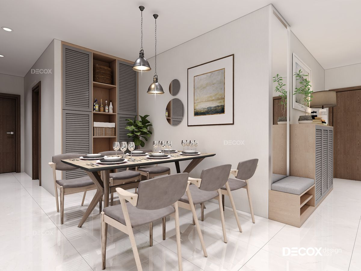 Thiết kế nội thất chung cư 104m2 Vinhomes Central Park
