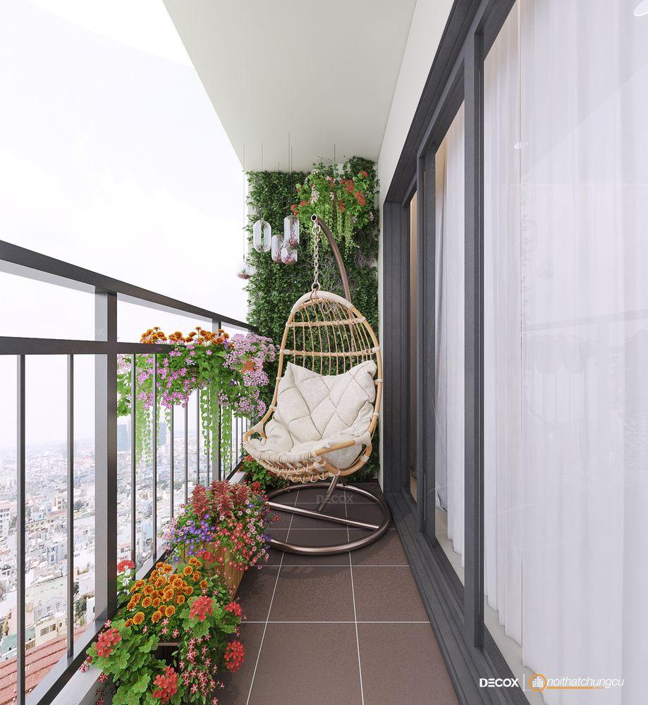 Tư vấn thiết kế nội thất căn hộ Masteri 48m2