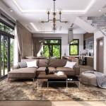 Chi phí hoàn thiện nội thất nhà liên kế