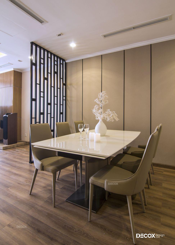 Thi công nội thất căn hộ Vinhomes Central Park 118m2