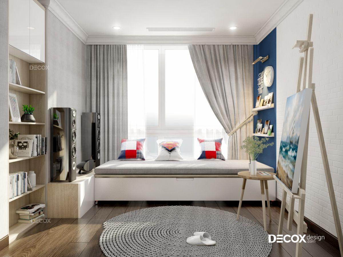 Tư vấn thiết kế nội thất chung cư Vista Verde 78m2