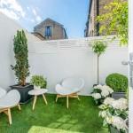 Thiết kế sân vườn cho nhà liên kế