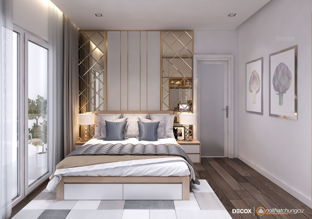 Mách bạn cách bố trí nội thất cho phòng ngủ nhỏ