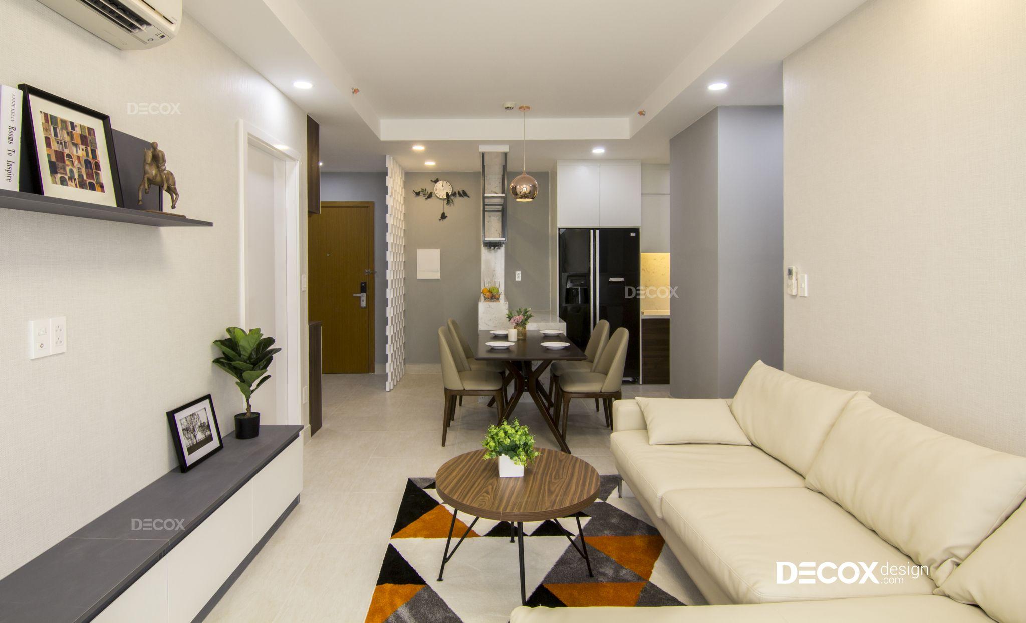 Thi công nội thất căn hộ Everrich Infinity 85m2