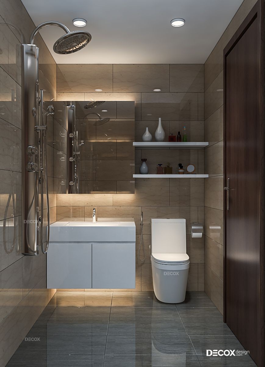Thiết kế nội thất chung cư Anh Tuấn 70m2