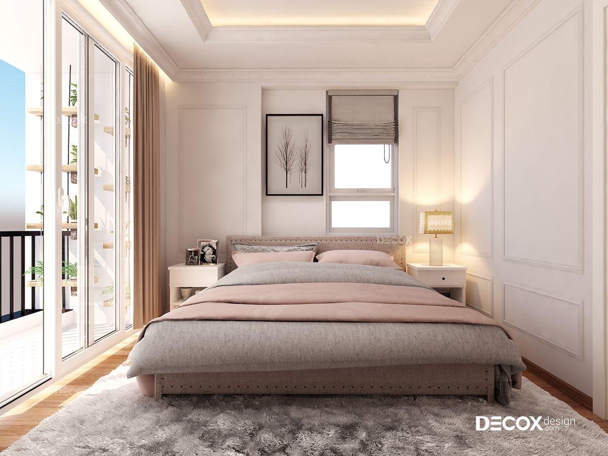 Thiết kế nội thất căn hộ Botanica 63m2