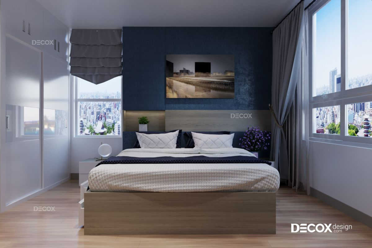 Thiết kế nội thất căn hộ Botanica 90m2