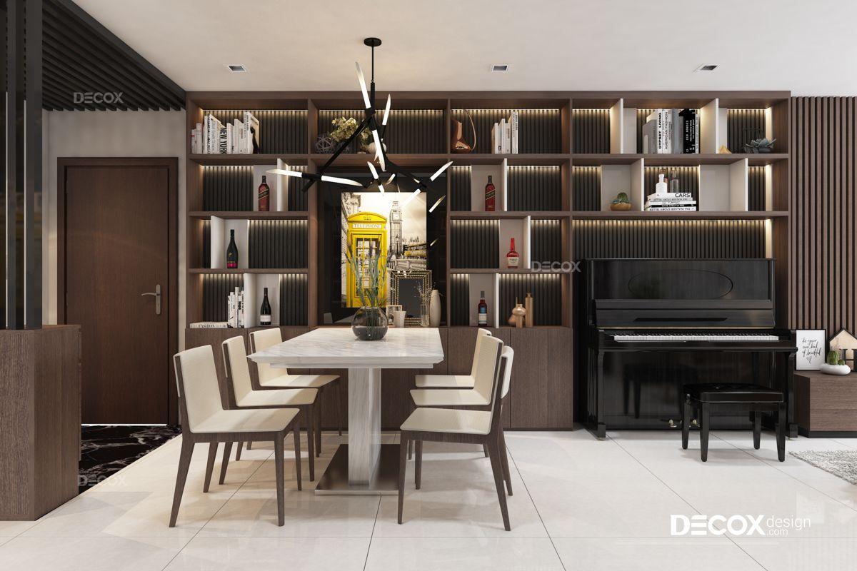 Thiết kế nội thất chung cư Hà Đô 100m2