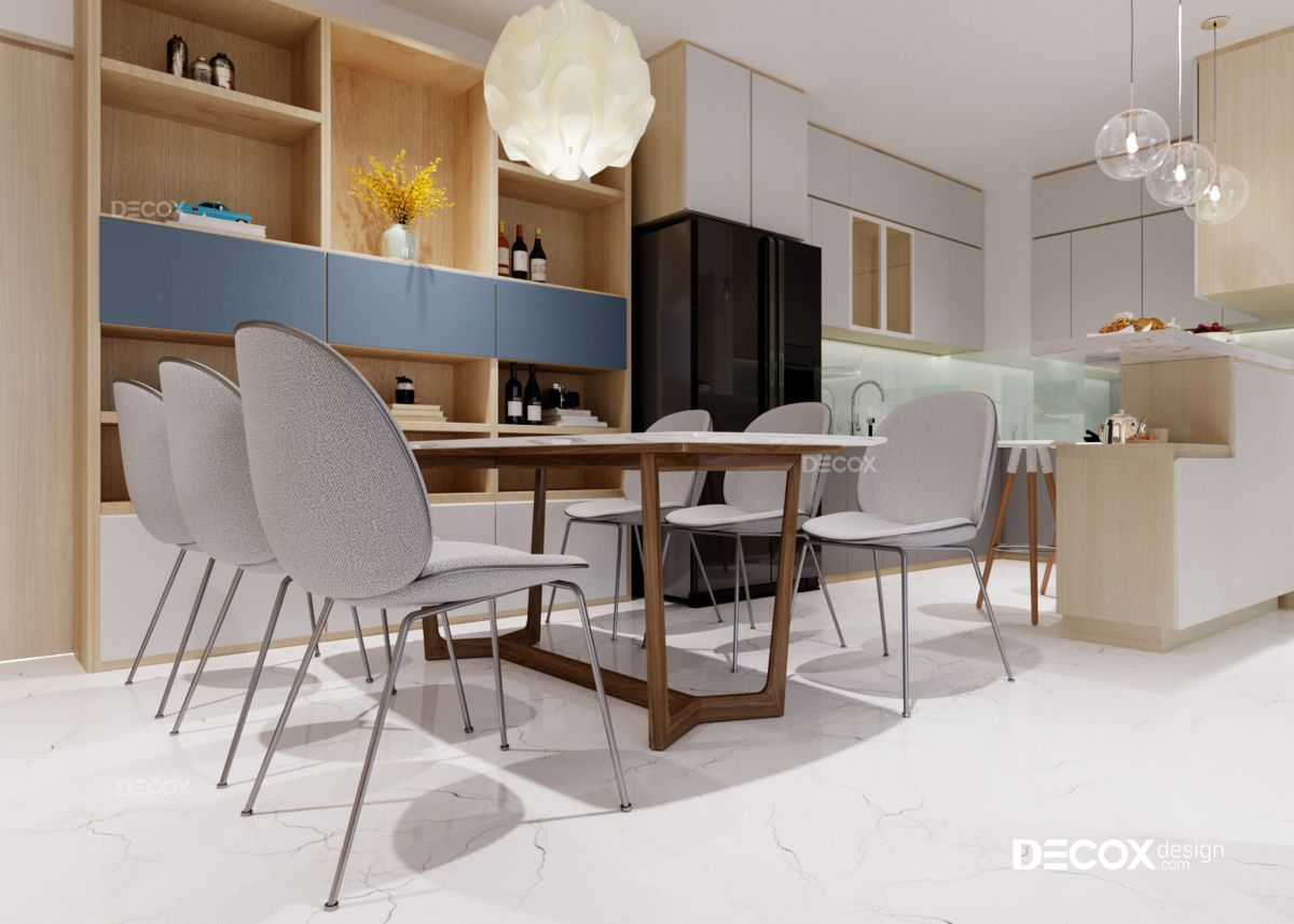 Thiết kế nội thất chung cư New City 80m2