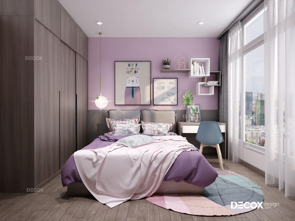 Thiết kế nội thất căn hộ Petroland 95m2