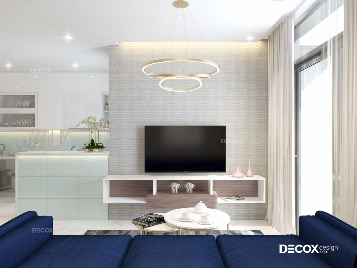 Thiết kế nội thất căn hộ Vinhomes Central Park 100m2