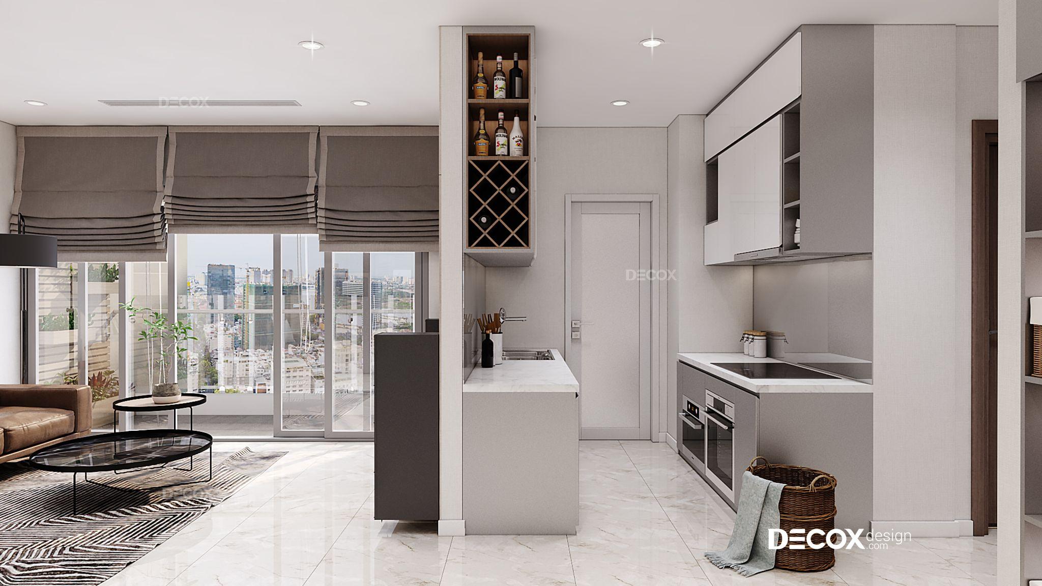 Thiết kế nội thất căn hộ Vinhomes Central Park 78m2