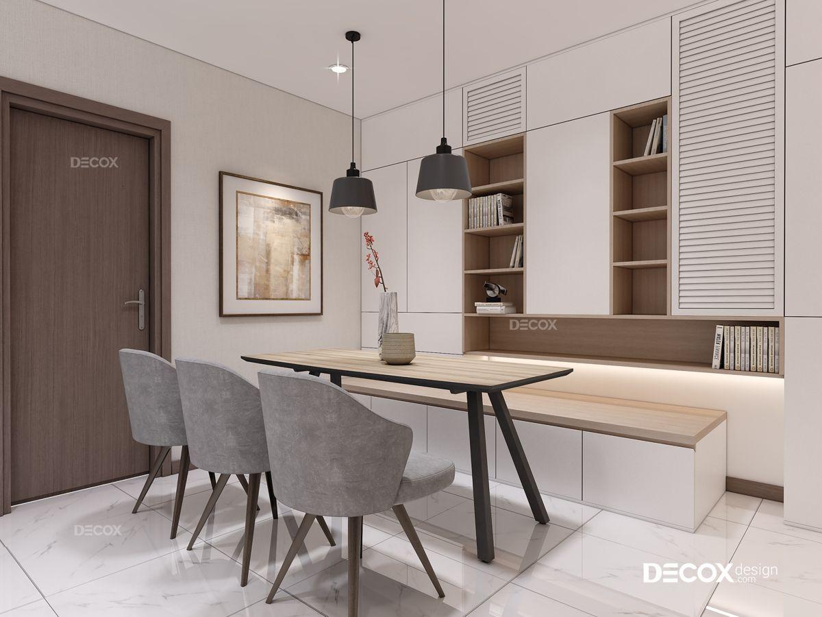Thiết kế nội thất chung cư Vinhomes Central Park 90m2