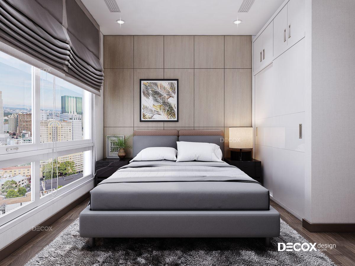 Thiết kế nội thất chung cư Vinhomes Central Park 78m2